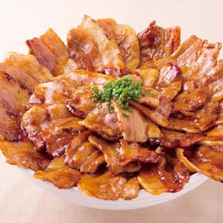 【名物】しびれ豚丼!630円~