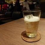 cafe causa - 相変わらずノンアル ジンジャーエール500円