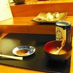 松鮨 - カに汁