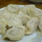 金春 - 水餃子(10個・500円)♪味つけはしっかりめです。