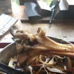 翡翠館 てんぐの蔵 - 天然舞茸