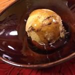 土はし - サツマイモのアイスクリーム