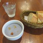 BONCOURAGE - 本日のスープ・バゲット