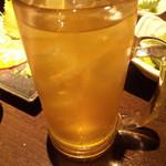 AJITO - 緑茶ハイ・380円