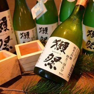 日本全国から50種の日本酒!!