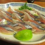 いやいやえん - 2016年9月。秋刀魚のマリネ