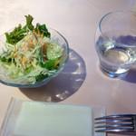 シャングリーラ - セットのサラダ