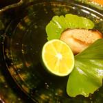 はし野 - 焼き物 マナガツオ~長芋を包んで~