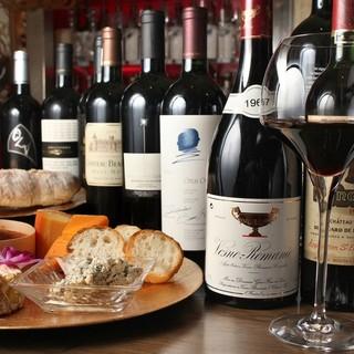 チーズとワインの種類は上新庄で一番!