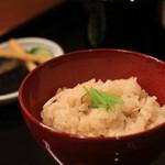 日本料理 銭屋 - 松茸ご飯