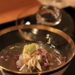 日本料理 銭屋 - レンコン饅頭
