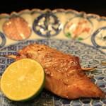 日本料理 銭屋 - のどぐろと松茸