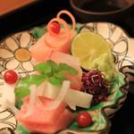 日本料理 銭屋 - ・・カジキ、目鯛、マグロ