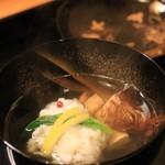 日本料理 銭屋 - 鱧と松茸