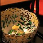 日本料理 銭屋 - 壬生菜と松茸