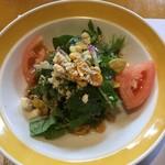 桃太郎 - 1080円ランチのサラダ