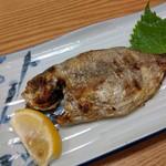 食堂のいのうえ - エボ鯛塩焼き