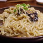 蓮香 - ブラックトリュフの麺