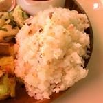 よこまち - 五穀米のご飯