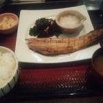 大戸屋 - 料理写真:しまほっけの炭火焼定食