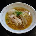 麺屋 義 - 義ラーメン(しょうゆ)+味玉