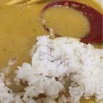 カレーうどん屋 咲々 - スープinライス