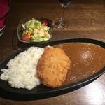 COOPERS - ポークカツカレー、980円(10食限定)