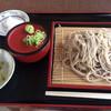 お山のおもしえ学校 - 料理写真:ざる蕎麦