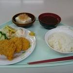 ハーベスト - ヒレカツ定食