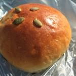 パン工房 ふるる - かぼちゃクリームパン