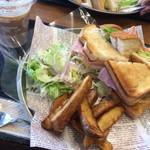 MIYABI cafe & boulangerie - BLTCサンド