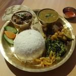 57296081 - ネパールセット(マトンカレー)