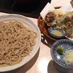 57296617 - 2016.10.10撮影                       野菜天盛り蕎麦