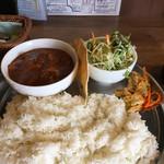 Spice食堂 - マトンカレーセット