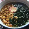 京甘味 文の助茶屋   - 料理写真:なめことわかめたっぷりの茶そば