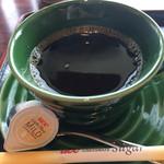 京甘味 文の助茶屋   - ホットコーヒー