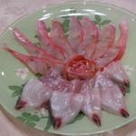 MERCI 0823 - 料理写真:金目鯛とはまちのしゃぶしゃぶ