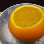 京橋千疋屋製造 直売所 - 自家製くりぬきゼリーオレンジ