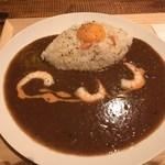 シモキタシュリンプ - 「海老の炊き込みライスカレー」1,200円