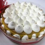 居酒屋とおるちゃん - オーダーケーキ。かぼちゃのチーズケーキ。