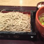 そば処 みよ田 - 鴨汁せいろ(1000円)