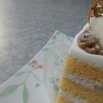 アブルーム  - 柿と洋梨のショートケーキ