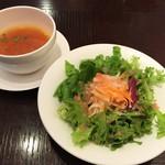 平五郎 - サラダ・スープ