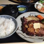 肉のやしろ 青木亭 - ステーキ定食