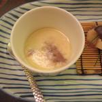 皆美館 - 夕食 牛テールの茶碗蒸し