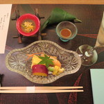 皆美館 - 夕食 季節の味覚盛込み