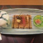皆美館 - 夕食 夏の楽盛り