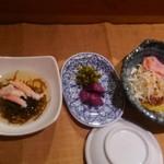 すし処 次郎丸 - セットの小鉢