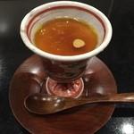 57314763 - フォアグラ茶碗蒸し