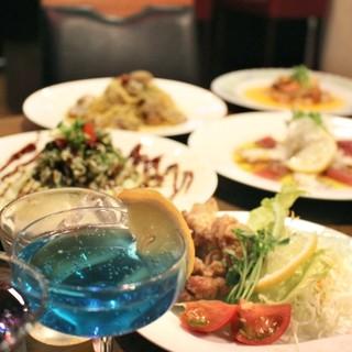 リーズナブルに食べられるお料理の数々